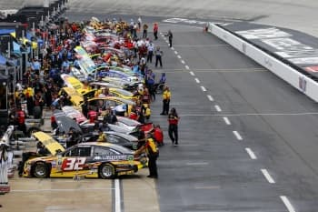NASCAR: Aug 19 Bass Pro Shops NRA Night Race